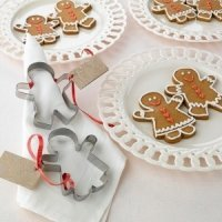 Gingerbread Cookie Cutter Wedding Favors (Set of 12)