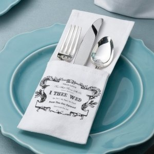 True Love Silverware Holders (Set of 4) image