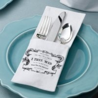 True Love Silverware Holders (Set of 4)
