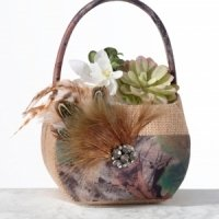 Camo Flower Basket