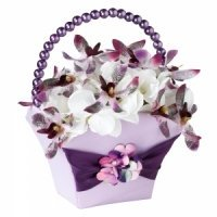 Radiant Flower Petal Basket