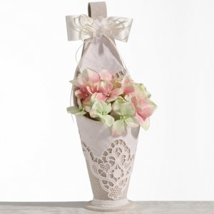 Country Lace Flower Basket image