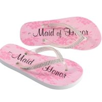 Bridal Party Flip Flops (3 Designs)