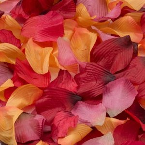 Rose Flower Petals for Flower Girls (6 Colors) image