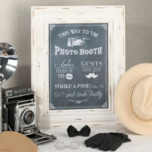 Photo Booth Framed Sign image