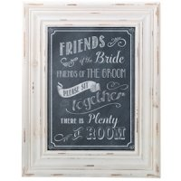 Chalkboard Style Seating Sign