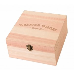 Wedding Wishes Card Box image