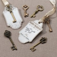 Bronze Key Tags Wish Cards (Set of 24)