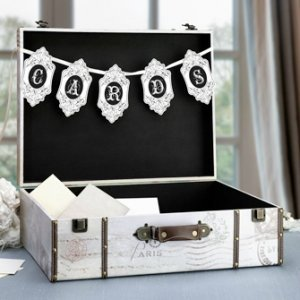 True Love Suitcase Card Box image