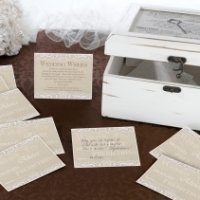Country Lace Wish Cards (Set of 48)