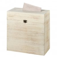 Rustic Wooden Card Box