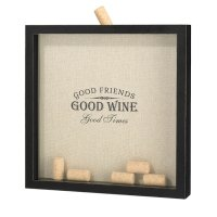 Good Friends Good Times Cork Frame