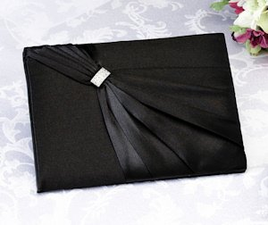 Black Sash Guest Book for Weddings image