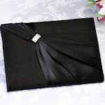 Black Sash Guest Book for Weddings