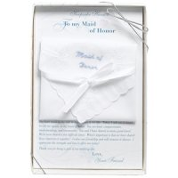 Boxed Maid Of Honor Gift Hankie