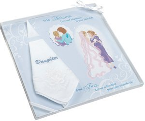Embroidered Daughter Gift Hankie image