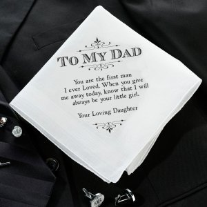 Keepsake Hankies for Him (3 Designs) image