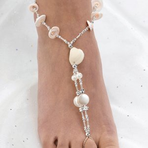 Sea Shell Foot Jewelry - One Pair image