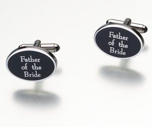Father Of The Bride Cufflinks image