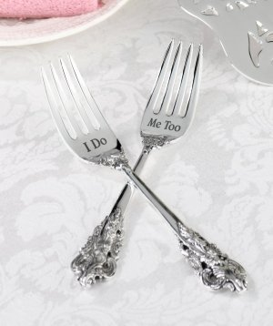 I Do and Me Too Fork Set image