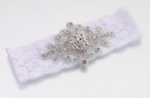 Jeweled Motif Garter (4 Colors) image