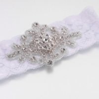 Jeweled Motif Garter (4 Colors)