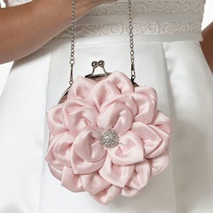 Flower Purse - Pink image