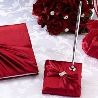 Red Sash Pen Set