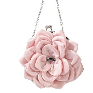 Pink Flower Quinceanera Purse image