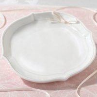 Porcelain Wedding Ring Bearer Bowl (Pillow Alternative)