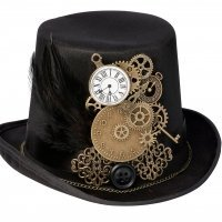 Steampunk Top Hat Ring Holder