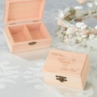'With This Ring' Ring Bearer Box