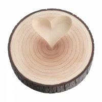 Tree Trunk Wedding Ring Holder