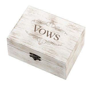 Vows Design Wedding Ring and Vow Box image