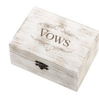 Vows Design Wedding Ring and Vow Box