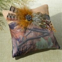Camo Ring Pillow