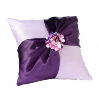 Radiant Flower Ring Pillow