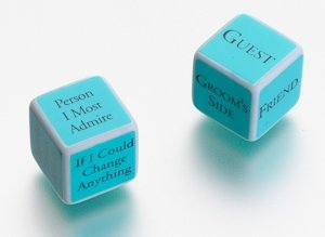 Bridal Shower Game Dice image