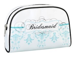 Bridesmaid Cosmetic Bags - Aqua image