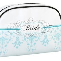 Bride Cosmetic Bag - Aqua