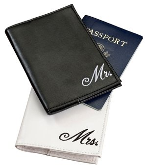 Mr and Mrs Passport Covers image