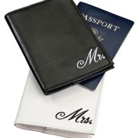 Mr and Mrs Passport Covers