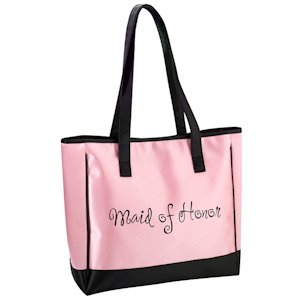 Pink Maid Of Honor Tote Bag image