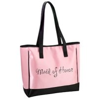 Pink Maid Of Honor Tote Bag