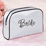 Bride Makeup Bag - White