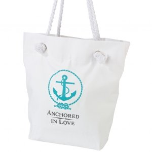 Anchored in Love Beach Bag image