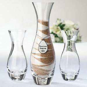 Hourglass Sand Ceremony Vase Set image