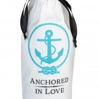 Anchored in Love Wine Bag