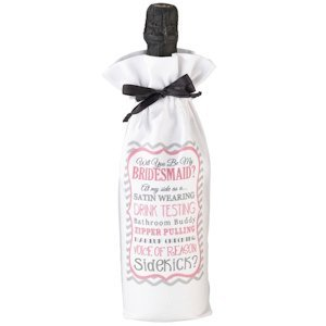 Will you be my Bridesmaid/Sidekick Wine Bag image