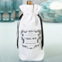 True Love Wine Bag